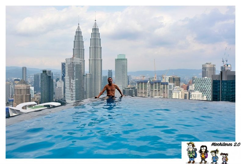 Infinity pool face suites kuala