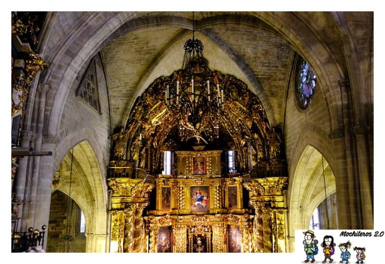 retablo altar mayor basilica morella