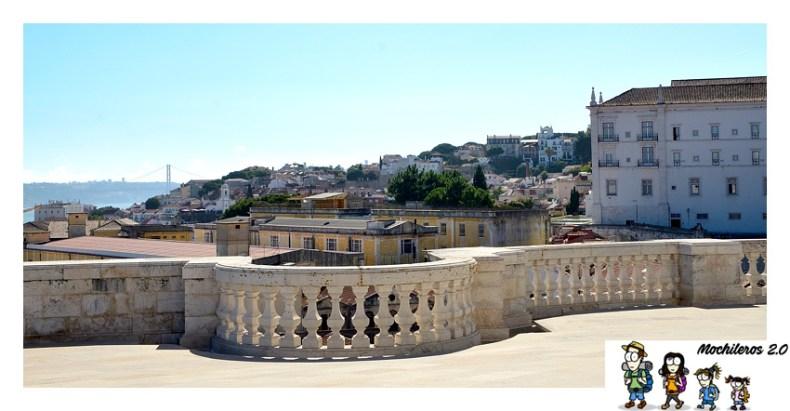vistas desde la cupula del panteon