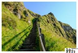 escalera ruta calzada
