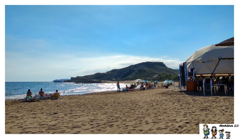 playa percheles mazarron
