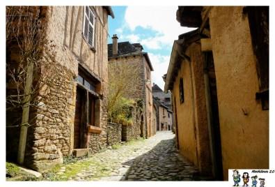 conques casas medievales