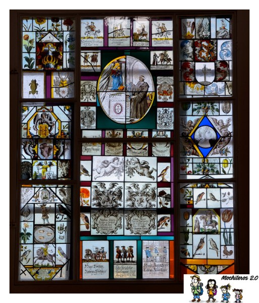 vidrieras palacio da pena