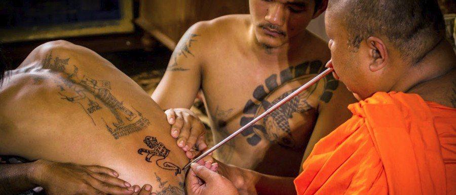 Tatuaje En Tailandia Tatuajes Sak Yant Y El Wat Bang Phra