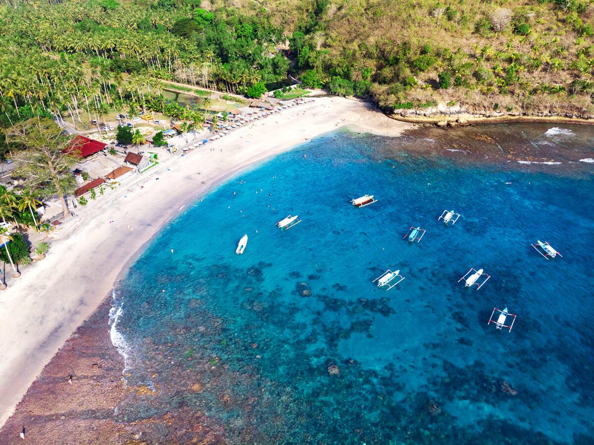 Playas nusa penida que ver Cristal beach