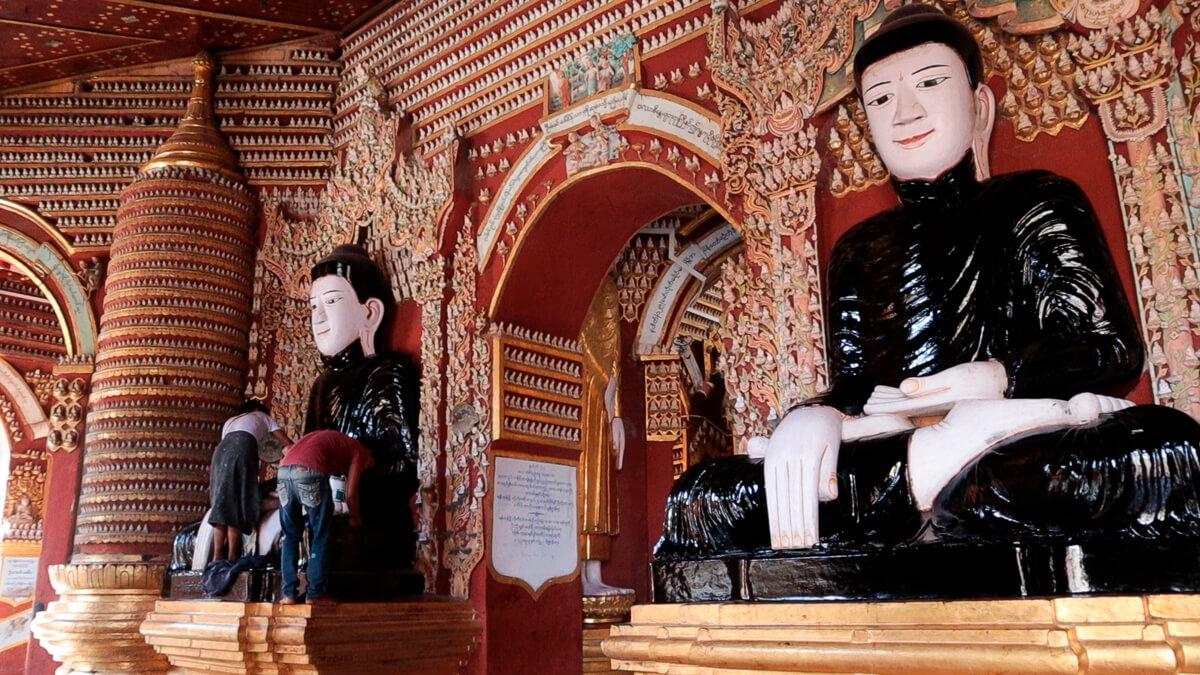 que ver Monywa pagodas y templos