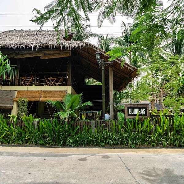 Buddas Thai es una buena opción para comer en la isla de Siargao.