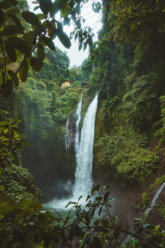 Las mejores cascadas de Indonesia Bali