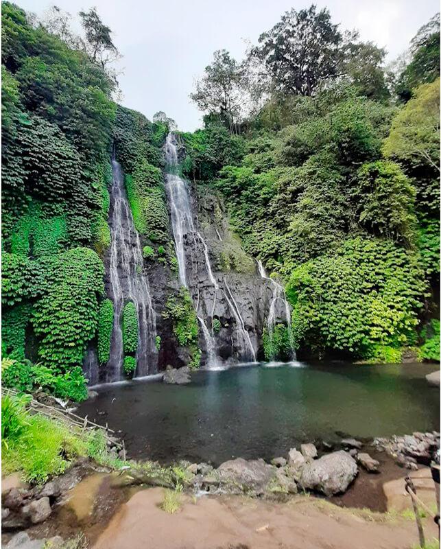 Que ver en Bali cascadas