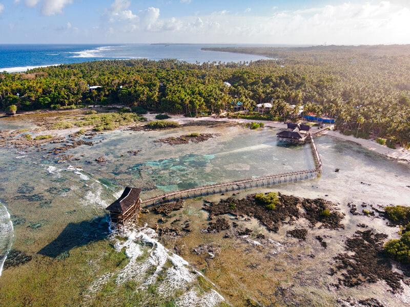 drone siargao filipinas guia de viaje mochilero
