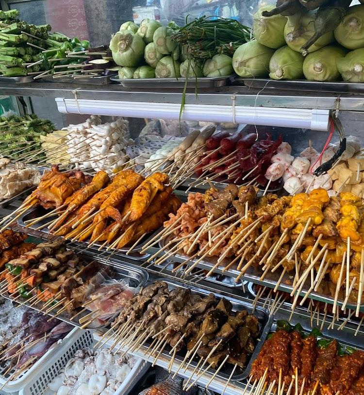 Yangon Myanmar donde comer barato