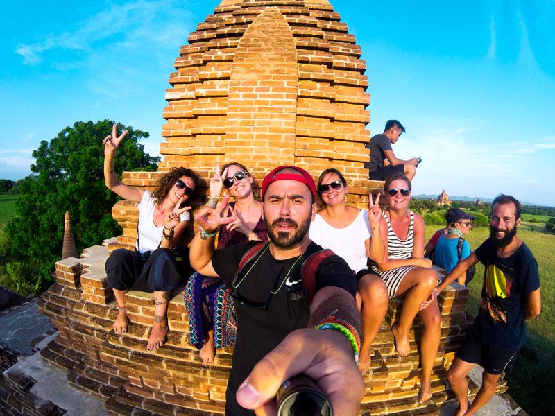 Que ver en Myanmar Bagan templos
