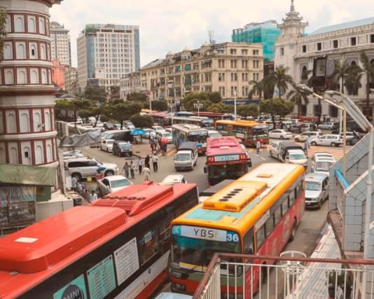 Que ver en Yangon Pagodas downtown