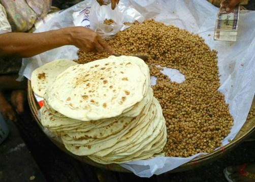 comer Myanmar platos tipicos