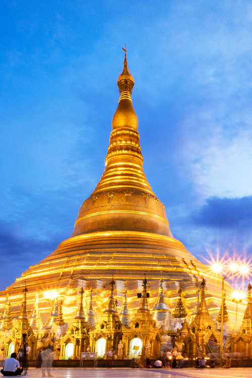 Viajar por Myanmar