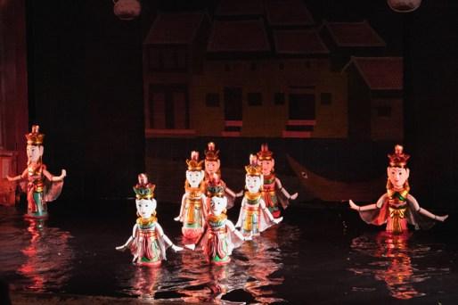 Marionetas en Hanoi