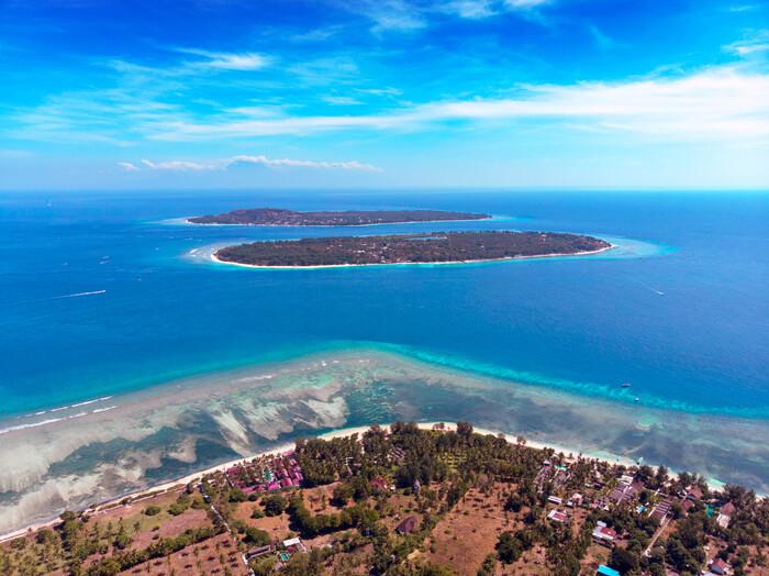 Gilis islas que hacer alojamientos