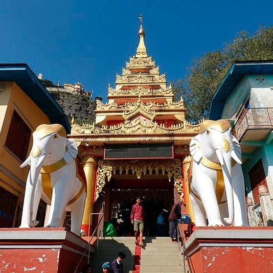 como llegar monte popa myanmar bagan