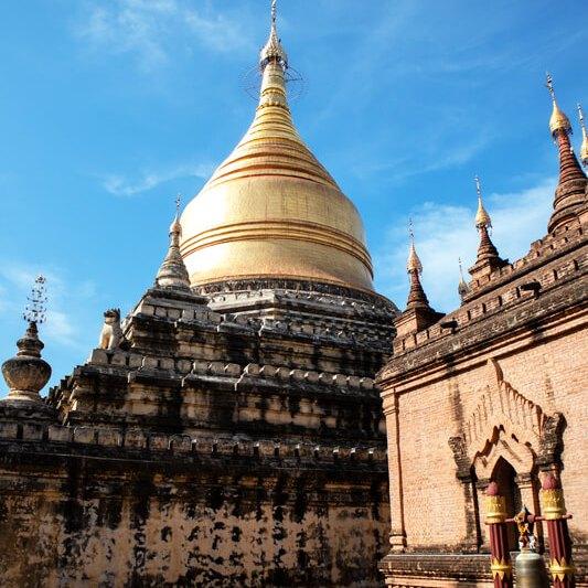 Pagodas y templos bagan
