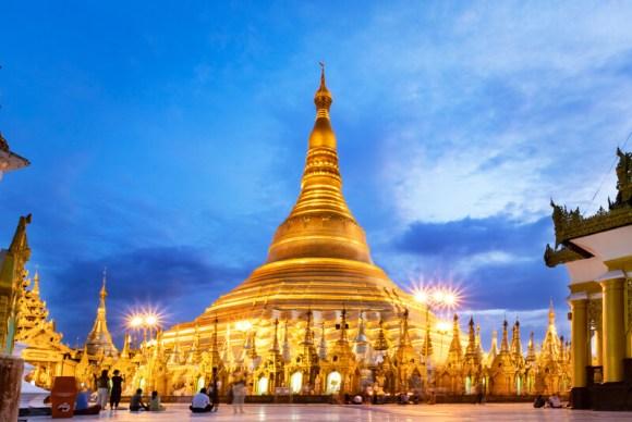 ruta para viajar a Myanmar