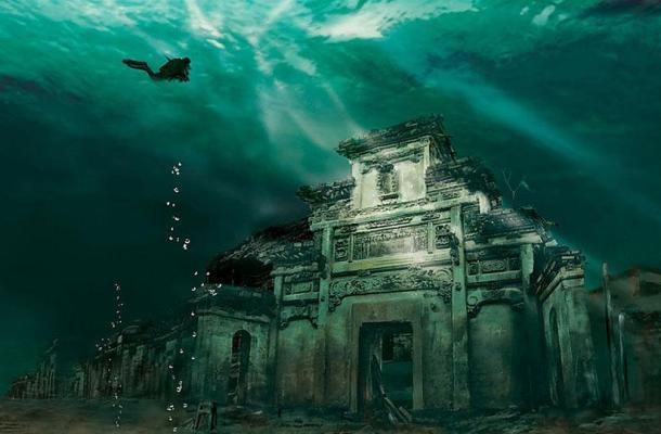 Lugares-abandonados-ciudad-sumergida-Shicheng-China