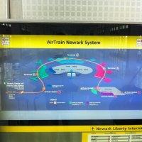 Aeropuerto-Newark-Liberty-AirTrain-mapa