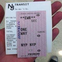 Aeropuerto-Newark-billete-tren