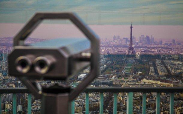 Paris-Torre-Eiffel-Torre-Montparnasse