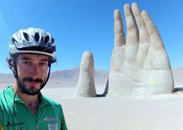 Mano del Desierto de Atacama, Chile