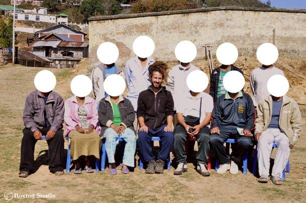 Sal del circuito. En Manipur nos pidieron anonimato_India