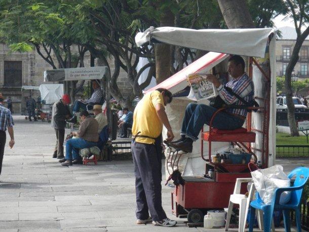 Mexico en bicicleta por Guadalajara