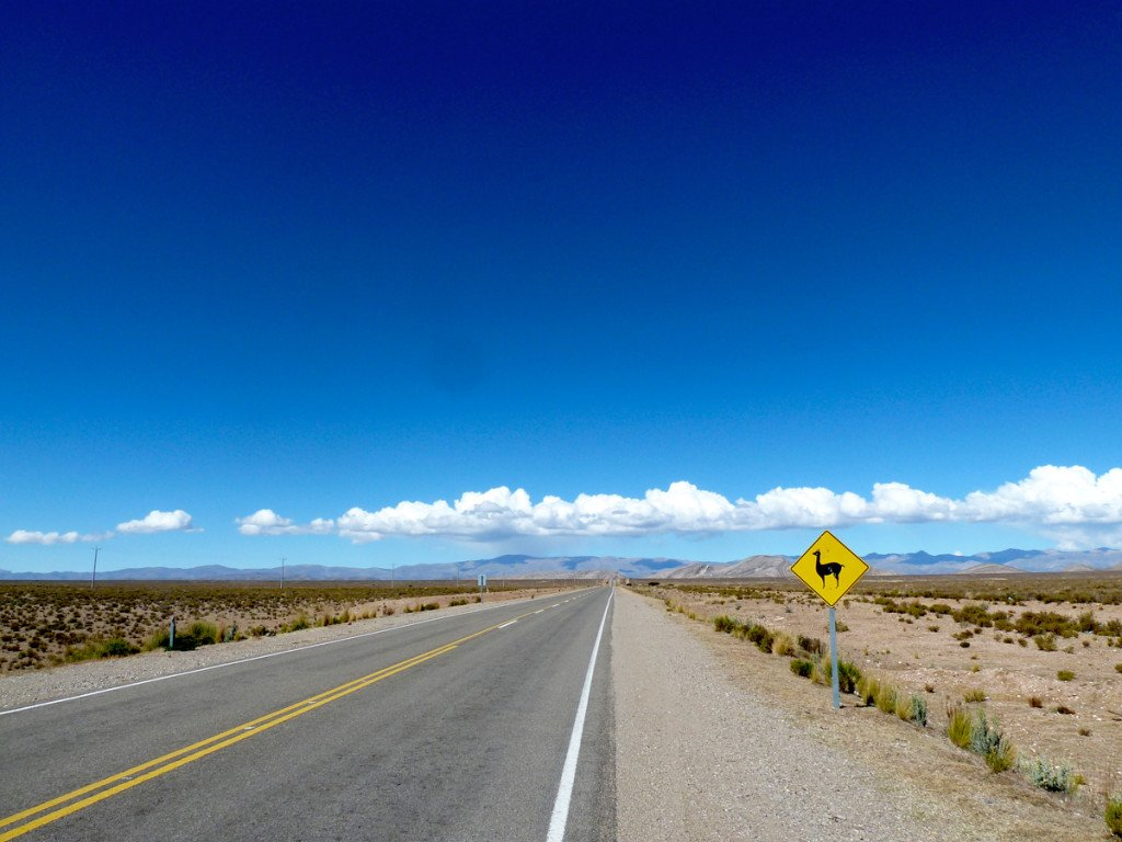 viajar en furgoneta Ruta 40 Argentina