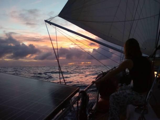 Barcostop Paula Gonzalvo navegando