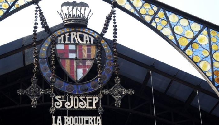 Mercado de La Boquería, una de las cosas imprescindibles que ver en Barcelona