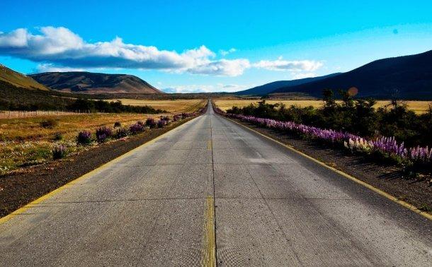 Asfalto y carretera
