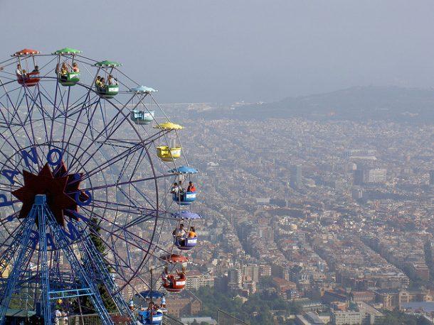 Tibidabo, una de las cosas imprescindibles que ver en Barcelona