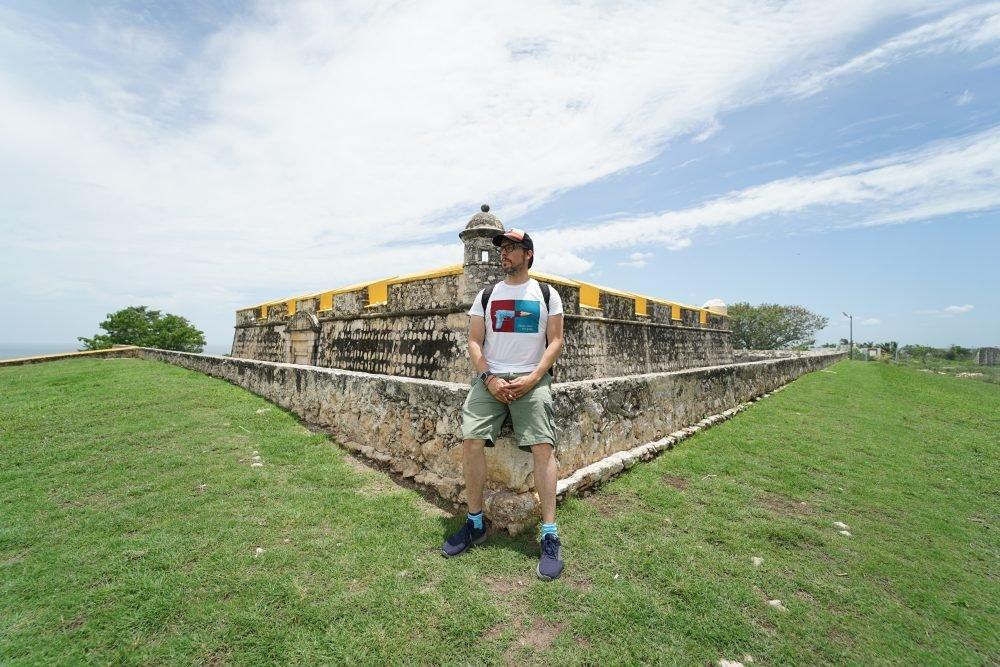 Iosu en Mexico probando su seguro mochilero totaltravel, uno de los mejores seguros de viaje