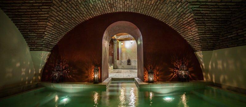 Piscina de los Baños Árabes Medina Mudéjar de Toledo