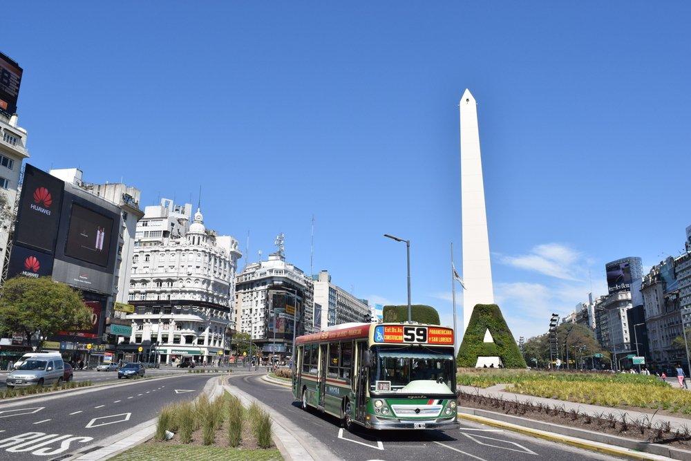 Cómo ir del aeropuerto al centro de la ciudad de Buenos Aires en colectivo