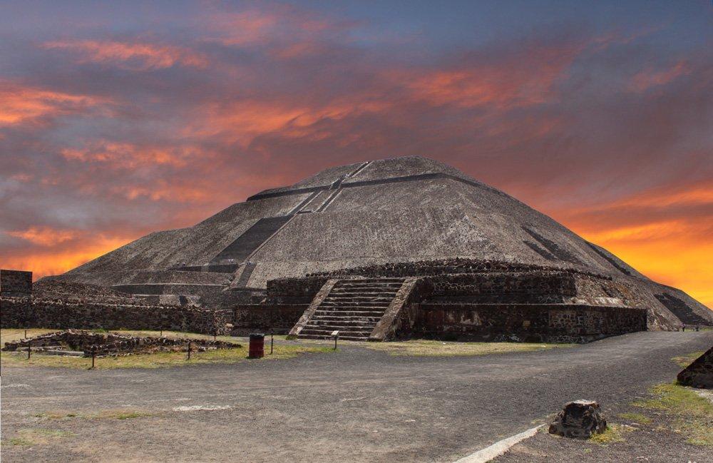 Teotihuacan, una de las excursiones cerca de Ciudad de México