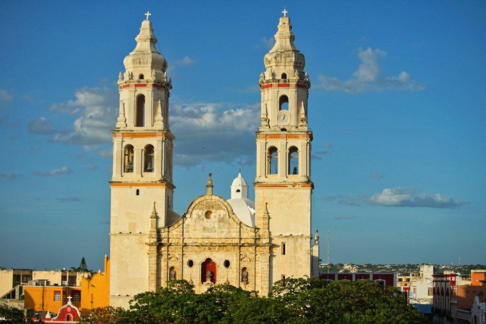 Que ver en Campeche: Catedral de Nuestra Señora de la Purísima Concepción