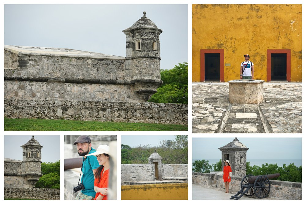 Lugares que ver en Campeche como el Fuerte de San Miguel