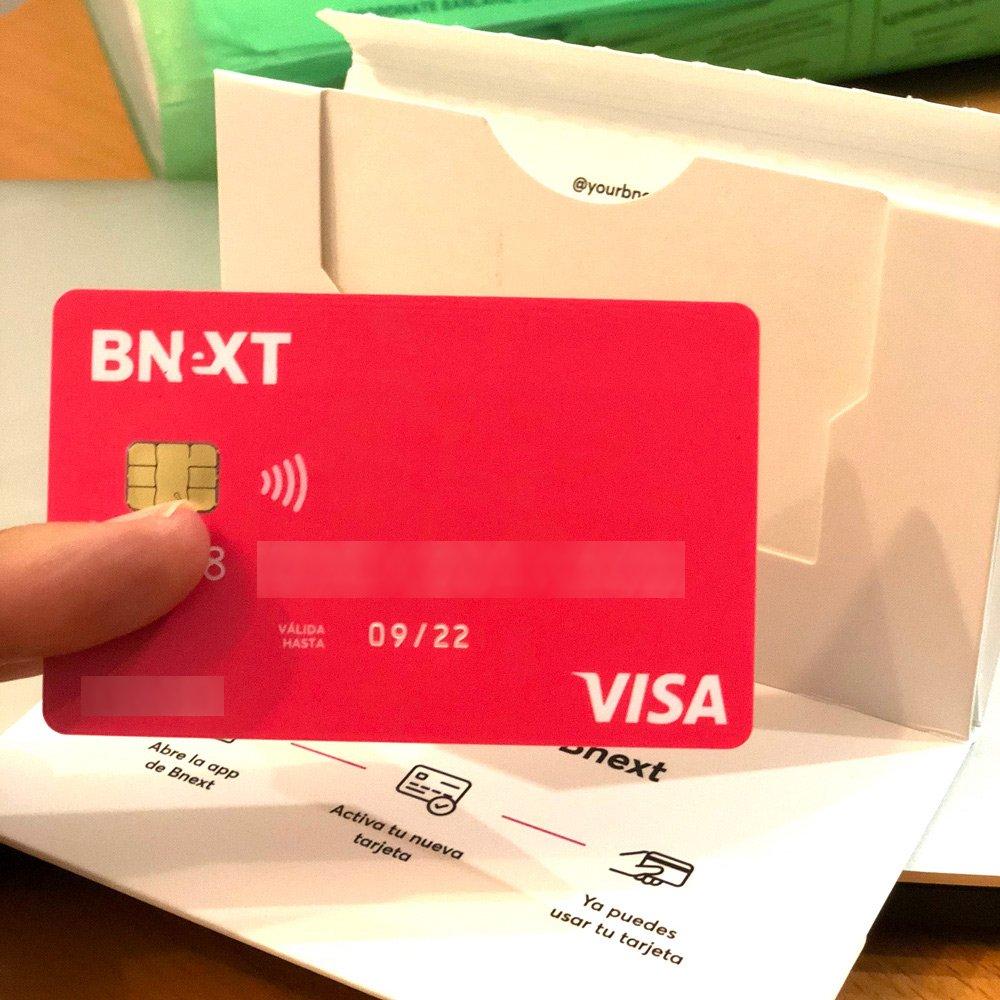 Tarjeta Bnext y welcome pack, una de las mejores tarjetas para viajar sin comisiones