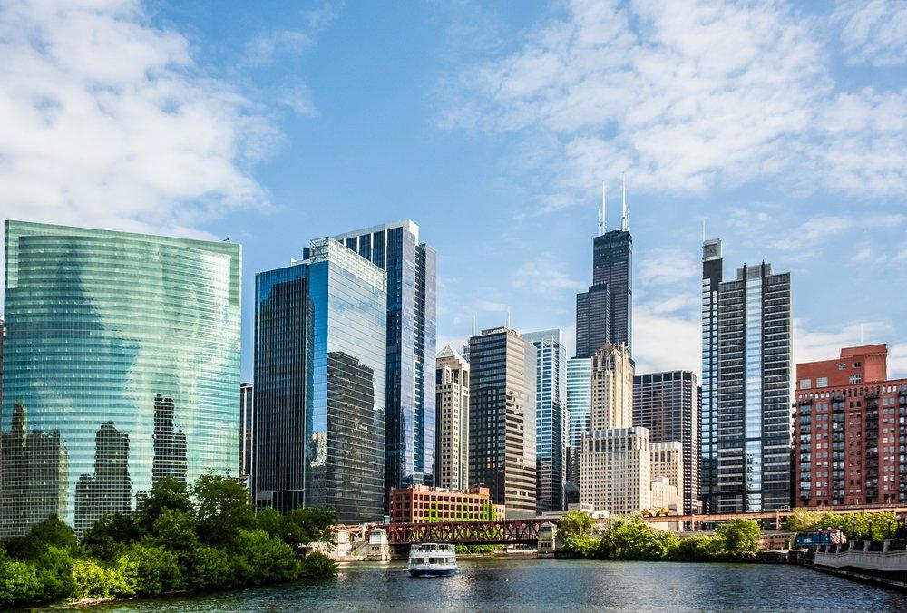 El Skyline es otra cosa que ver en Chicago