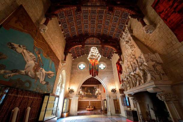Castillo Juego de tronos Barcelona