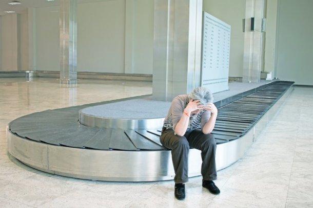 maleta perdida en el aeropuerto
