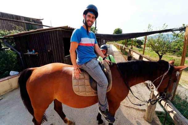Montar a caballo en Barcelona