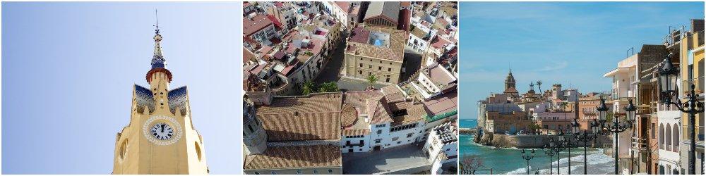 Sitges en la provincia de Barcelona
