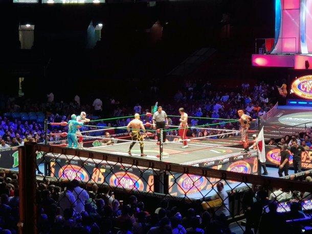 Lucha mexicana en Arena de México