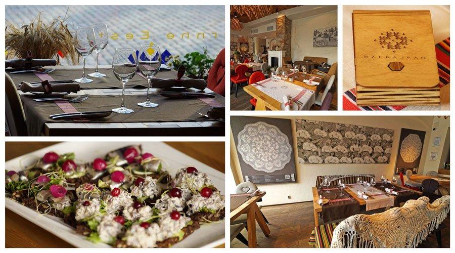 Lugares donde comer y beber en Tallin como el restaurante Kaerajaan